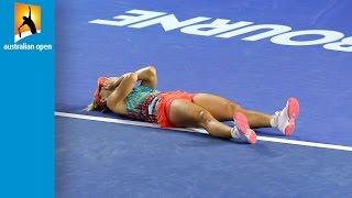 Top 5 tear-jerker moments | Australian Open 2016