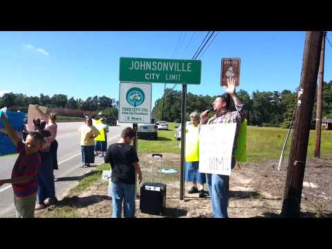 Johnsonville church of God Saturday City Outreach, May 30th 2015