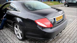 Mercedes CL 63 AMG C216 Startup, Revv and accelerate. videos