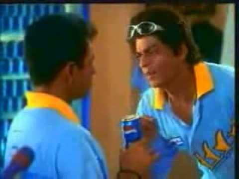Rahul Dravid,Sachin Tendulkar,Shahrukh Khan Old Pepsi Commercial