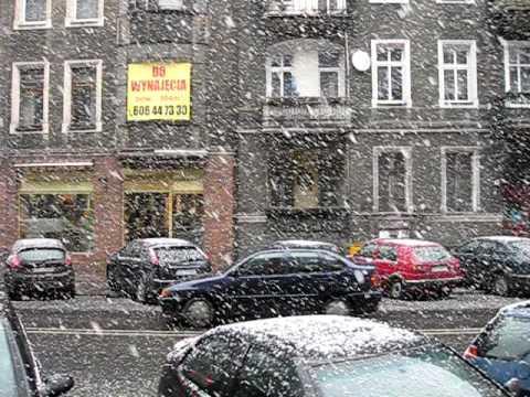 MARCH 4 2010 Szczecin Snowstorm