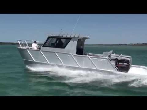 plate boat OMM JAYCAT 8M Commercial