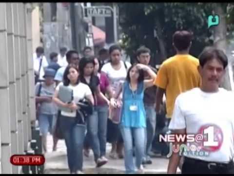 [News@1 Junior Edition] Philippine has highest unemployment rate in ASEAN nation [05 04 14]