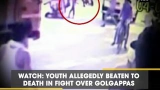 Watch: Youth allegedly beaten to death in fight over golga..