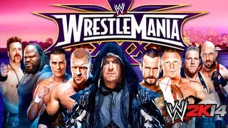 WWE 2K14 - WRESTLEMANIA XXX DLC - 30 YEARS OF WRESTLEMANIA MODE