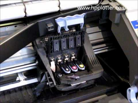 Designjet 500/800 Series - Replacing printhead on your printer