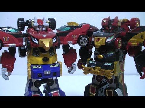 đồ chơi Siêu Nhân Cơ Động Power Rangers Go Ongers Toys 파워레인저 엔진포스 G3엔진킹 엔진대장군 로봇 변신 장난감