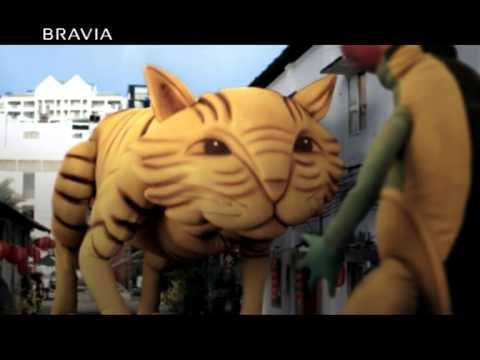 Phim quảng cáo Thế giới 3D của Sony: Tái hiện đám cưới Chuột trong năm Mèo