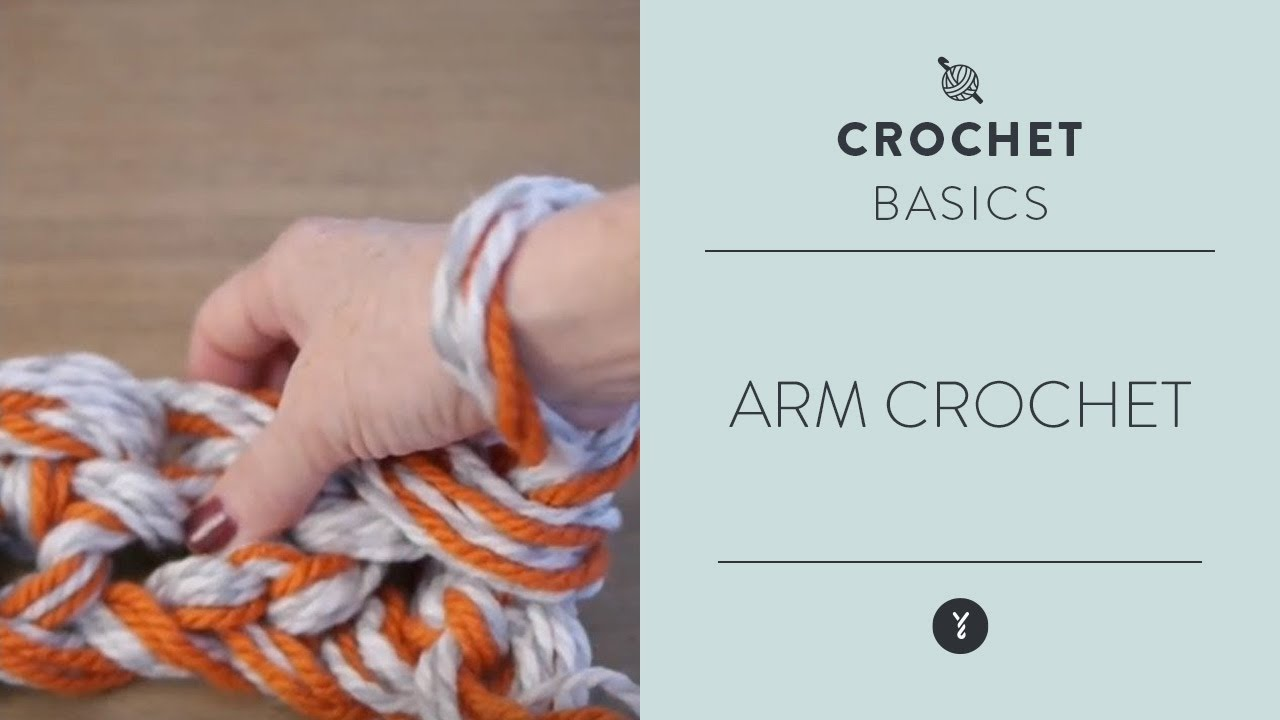 How to Arm Crochet - YouTube