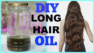 DIY: Hair Growth Oil for Long Shiny Hair | SuperPrincessjo