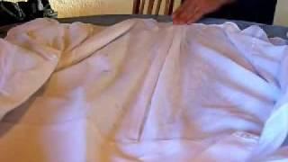 Como planchar con almidón