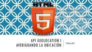 Curso de HTML 5. Parte 45