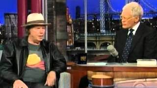 Neil Young and David Letterman Talk Lionel Trains