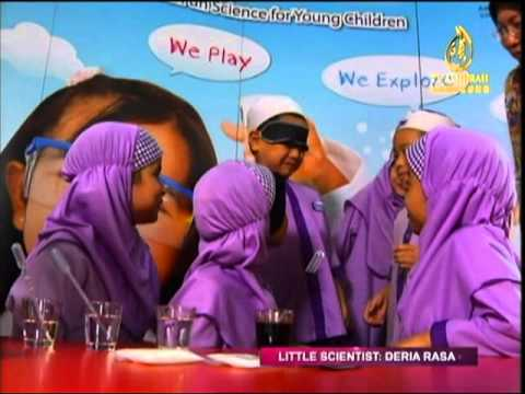 Little Scientists in Assalamualaikum TV Al Hijrah 29-11-2013