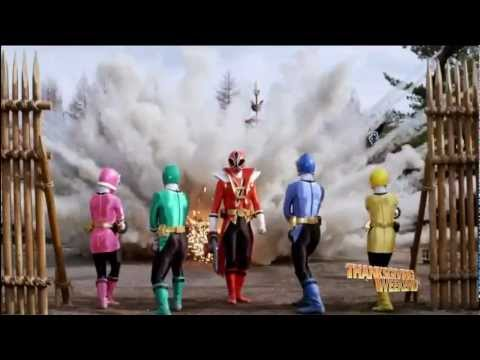Power Rangers  Samurai   Shark Sword and Mode HD   YouTube