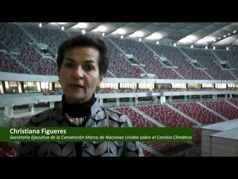 Declaraciones de Christiana Figueres sobre la COP20 en Lima - Perú (2014)