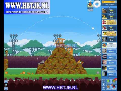 Angry Birds Friends Tournament Level 1 Week 119 (tournament 1) no power-ups