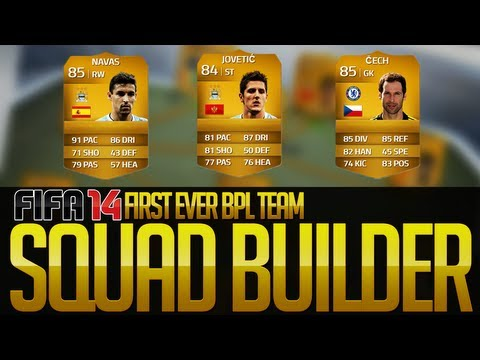 My First BPL Squad Builder! w/ Jesus Navas! FIFA 14 Ultimate Team