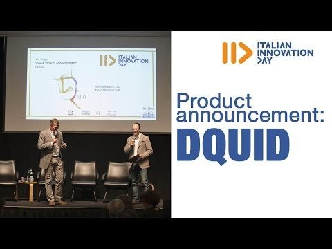 Product announcement: DQuid - Italian Innovation Day 2014