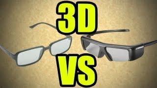 3D activo y 3D pasivo diferencias