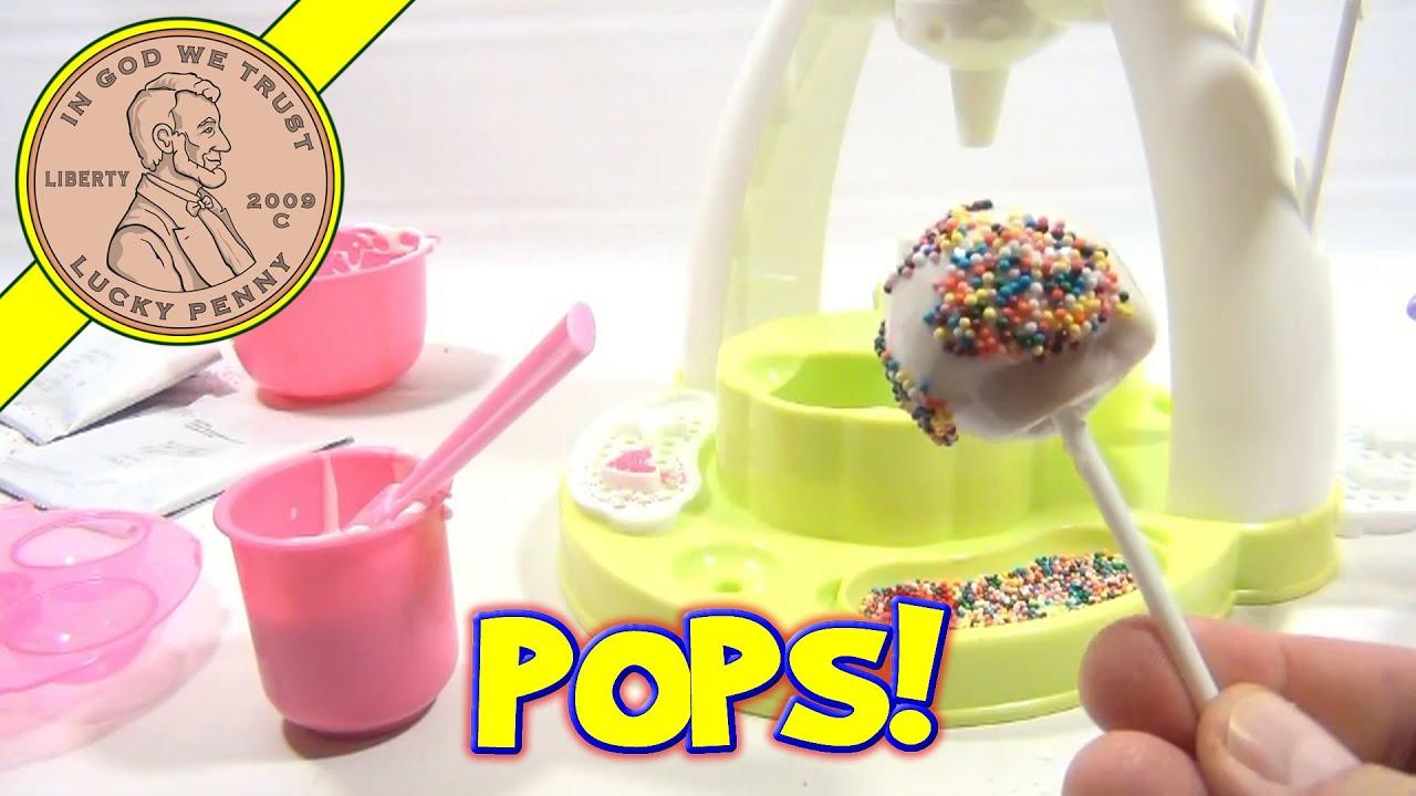 Making Cake Pops In A Cake Pop Maker