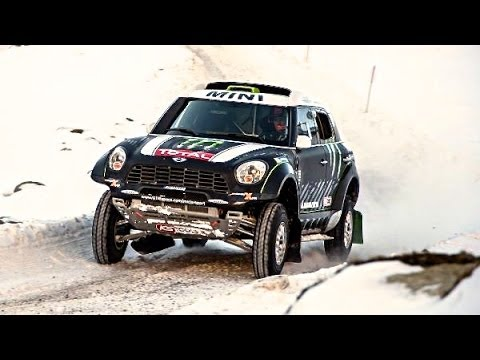 MINI ALL4 Dakar Rally 2014 1st Place Day 2 Stéphane Peterhansel Mini JCW ALL4 Commercial Carjam TV