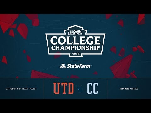 Columbia vs UT Dallas | QuarterFinals Game 1 | 2018 College Championship | CC vs UTD
