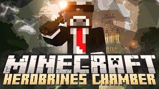 """Minecraft """" HEROBRINE'S MINIGAME MANSION """" HEROBRINE 'S CHAMBER Survival Minigame Mod"""