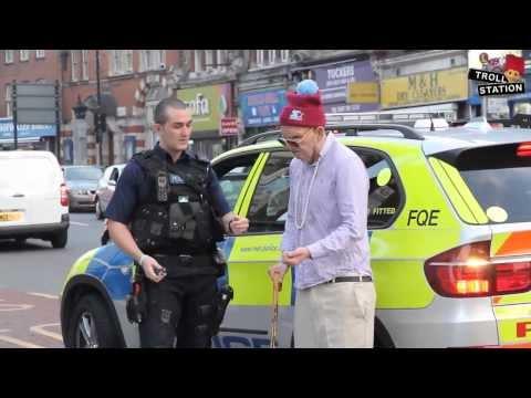 Old Man Selling Drugs in the Hood Prank