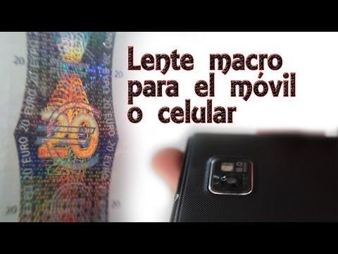 Cómo hacer una lente macro para el móvil o celular (Experimentos Caseros)