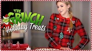 Grinch Holiday Treats // 24 days of Chloe // Chloe Lukasiak