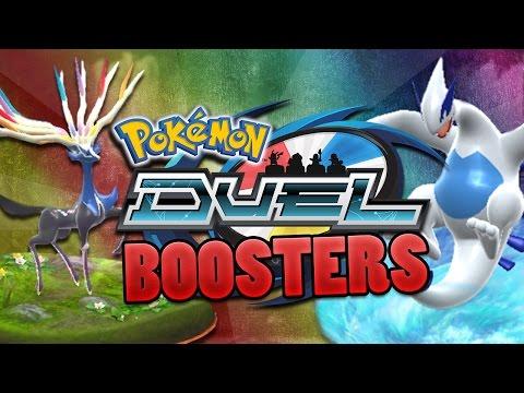 Pokemon Duel BOOSTER Opening! 6 Rare EX-Pokemon From 4 Packs!