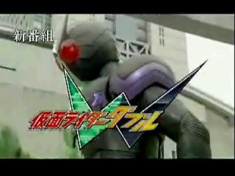 Kamen Rider W Double Henshin and Promo 1