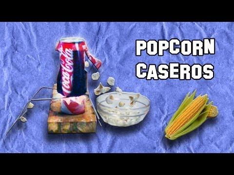 Como Hacer una Máquina de Popcorn o Palomitas | Experimentos Caseros