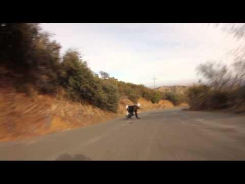 California Bonzing Skateboards - Adrian Da Kine - Raw Run 1