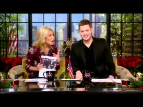 Michael Bublé Co-Host LIVE! with Kelly - 15 Dec 2011 - Part 1