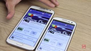 So sánh Galaxy Note 2 vs Galaxy S3 - CellphoneS