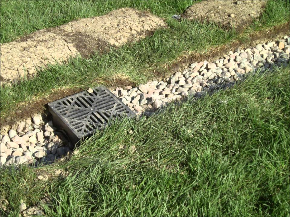 American landscape company drain tile systems youtube for American garden company