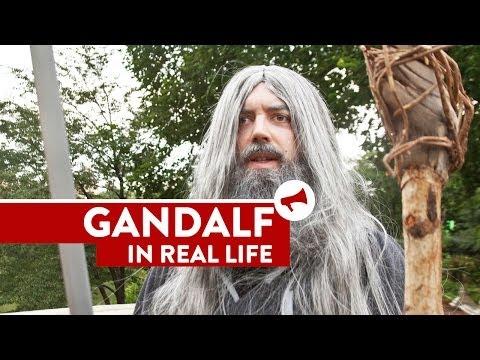 Kad Gandalf prošeta parkom :)