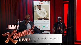 Jamie Foxx Sings Tinder Profiles
