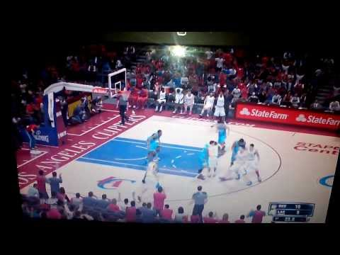2K NBA 2014 clippers vs Thunders