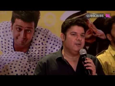 Sajid Khan, Ritesh, Ram Kapoor at the success party of movie Humshakals part 1