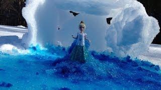 FROZEN SNOW Tutorial Queen Elsa How To Make The Movie