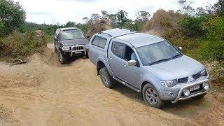 Jeep Grand Cherokee Vs Mitsubishi Triton L200 @ Powerlines