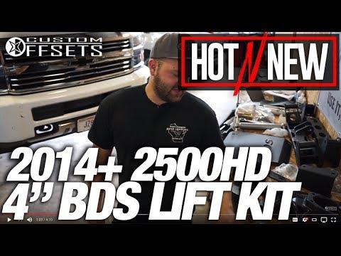 "Hot n New Suspension Series Ep. 15: 2014+ Silverado 2500HD 4.5"" BDS Lift Kit"