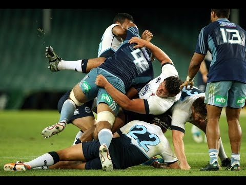 Waratahs vs Blues pre-season match highlights | Super Rugby Video - Waratahs vs Blues pre-season mat