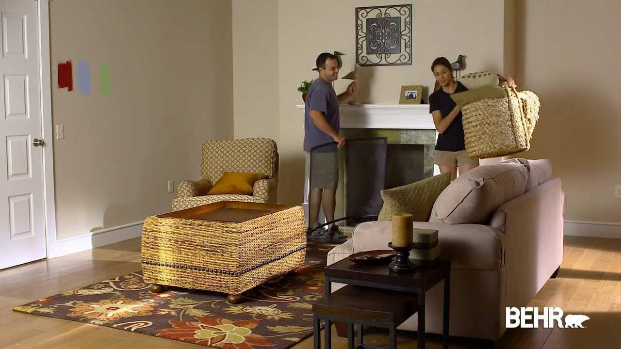 Pintura behr como preparar su habitacion para pintar - Pinturas modernas para interiores ...