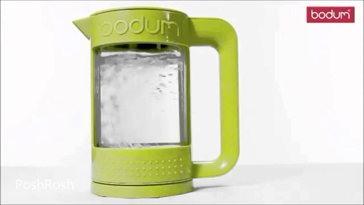 bodum bistro electric water double walled kettle 11445 new youtube. Black Bedroom Furniture Sets. Home Design Ideas