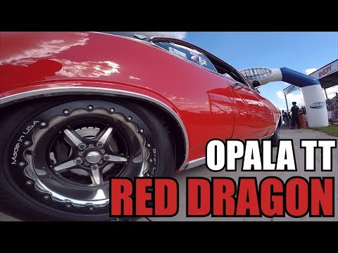 Recorde Pessoal e Pista - Opala Red Dragon TT 76 - Rapidos Drag Race