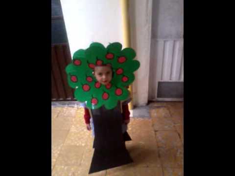 Como hacer un disfraz de arbol para la primavera - Imagui